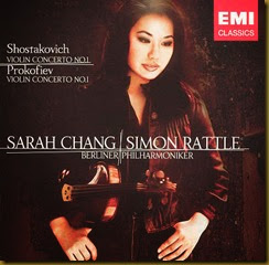 Shostakovich Concierto para violin 1 Chang Rattle