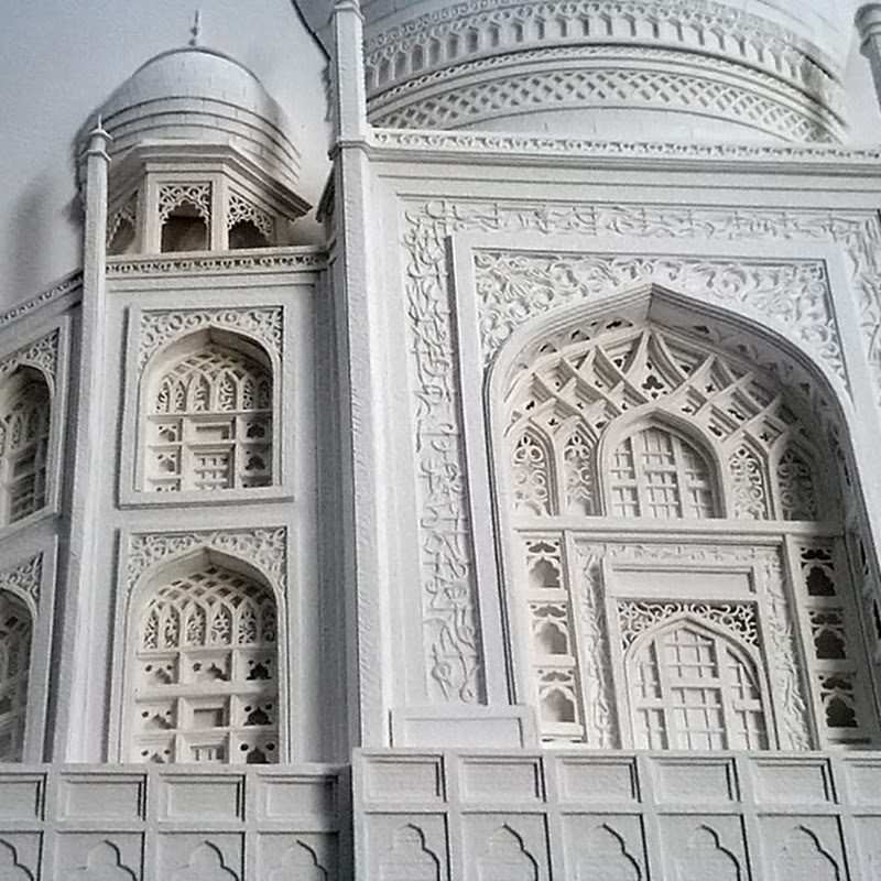 Intricate Paper Architectures by Christina Lihan
