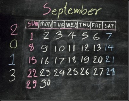 16601093-calendar-september-2013-on-a-blackboard