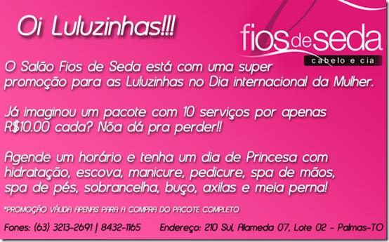 PROMOÇAO DIAS DAS MULHERES 2012