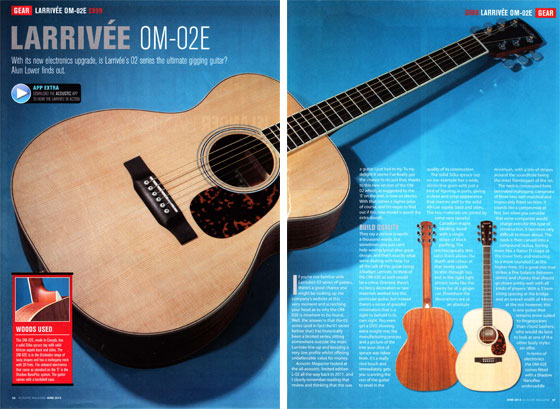 Acoustic om02e 560
