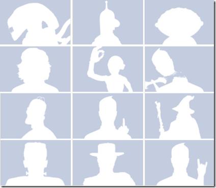 Sagome personalizzate per l'immagine personale del profilo Facebook