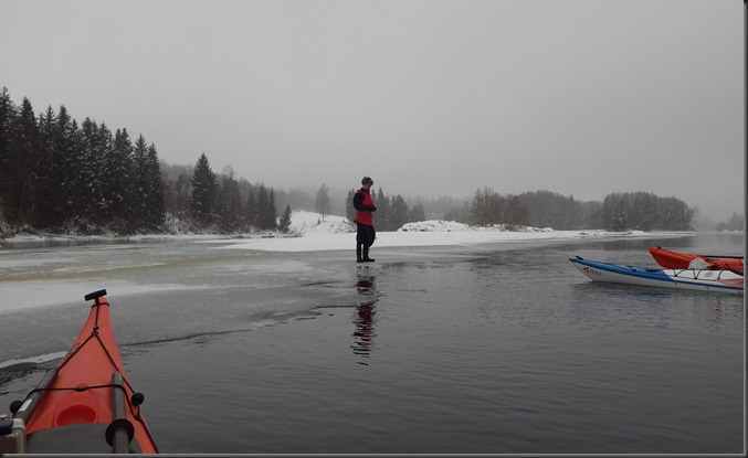 Bjørn Ivar på isen