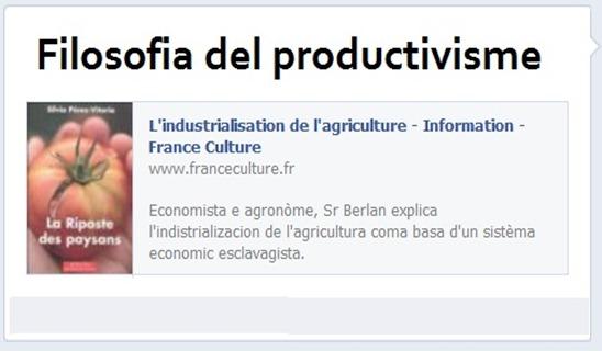 filosofia del productivisme