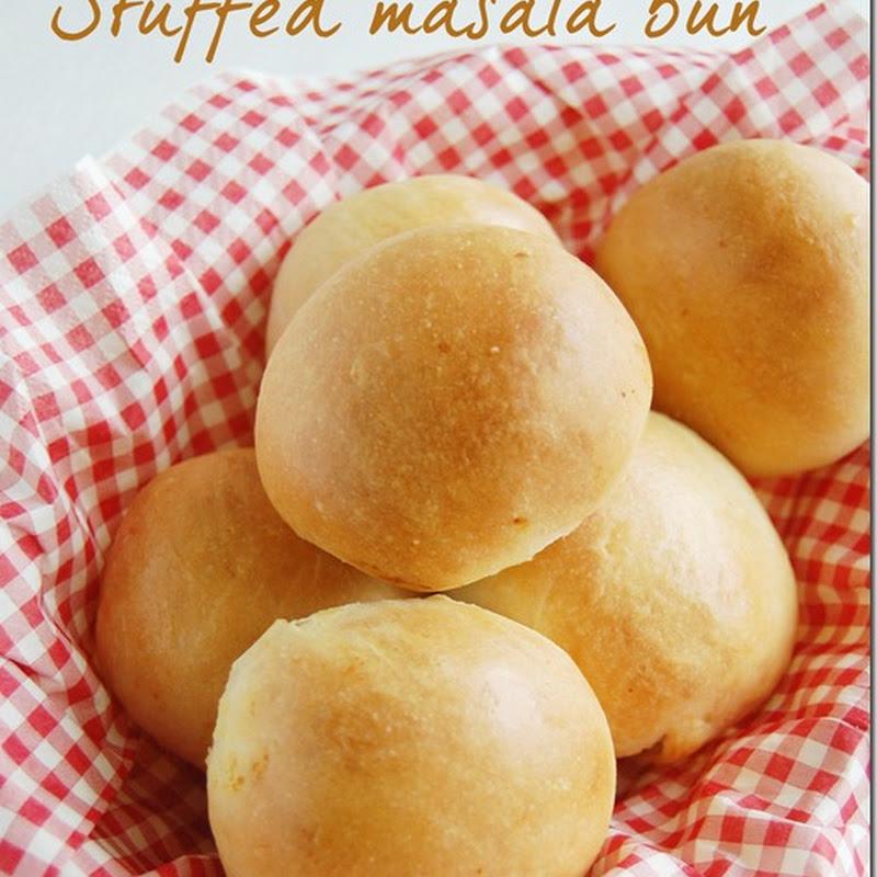 Stuffed masala bun