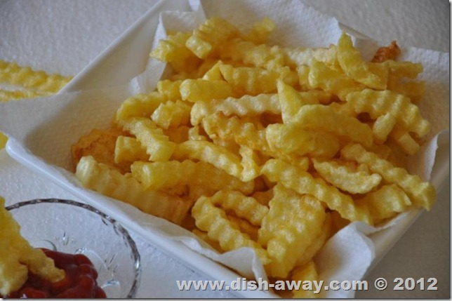 How to get Crispy French Fries by www.dish-away.com
