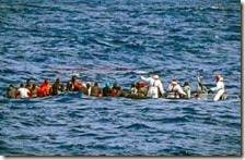 Clandestini in mare