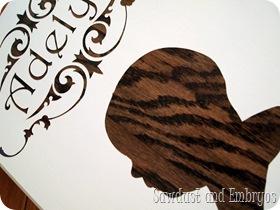Woodgrain Profile Plaques