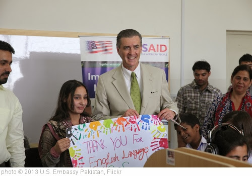 'U.S. Funds a New English Language Lab for Orphans in Islamabad' photo (c) 2013, U.S. Embassy Pakistan - license: http://creativecommons.org/licenses/by-nd/2.0/