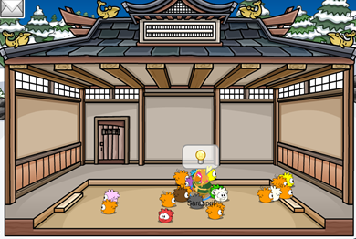 how to get into the dojo on club penguin rewritten