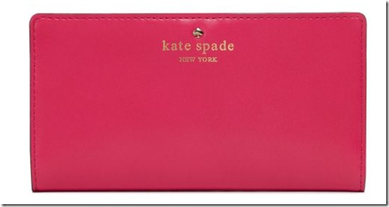 Kate Spade Check holder2