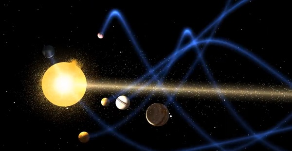 Картинки по запросу движение солнечной системы в галактике