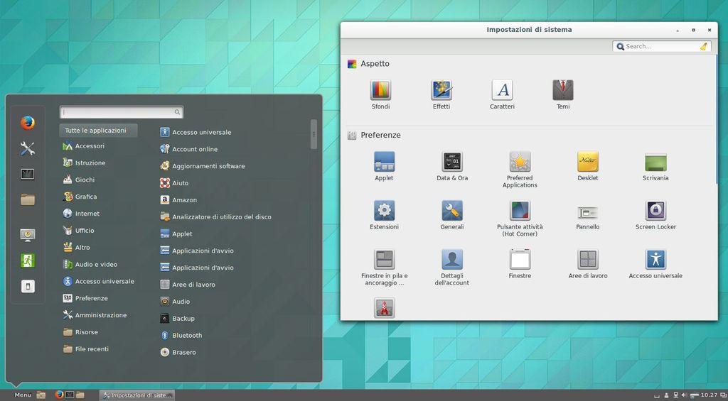 Cinnamon in Ubuntu 14.04 Trusty