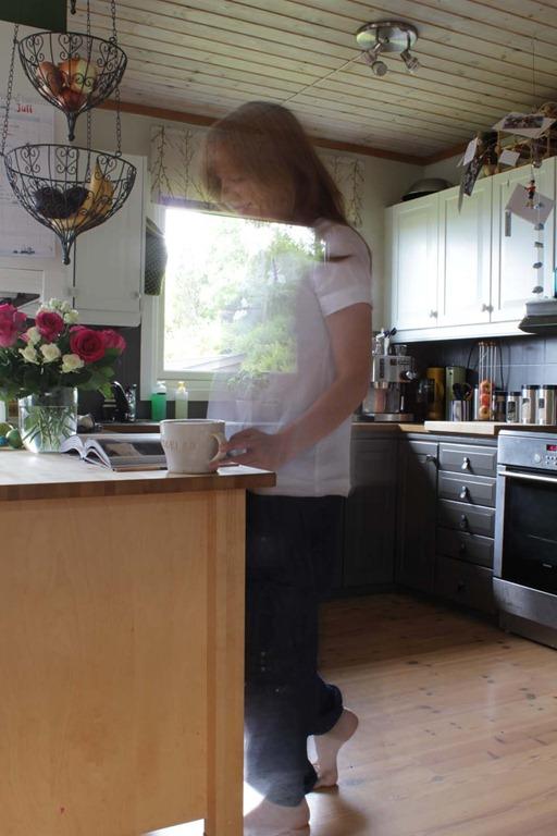 Nytt kjøkken og meg