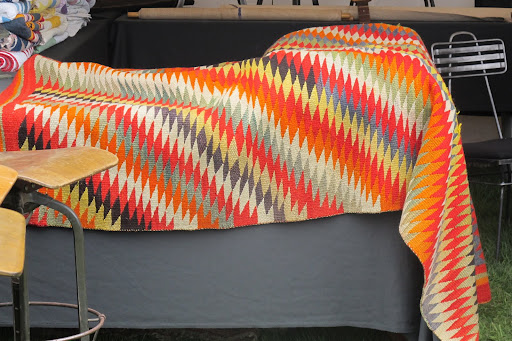 This Navajo blanket was simply stunning.