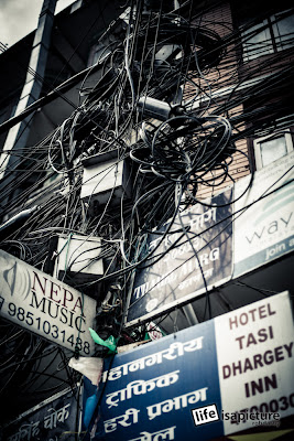 Nepal has a more complex electrical infrastructure