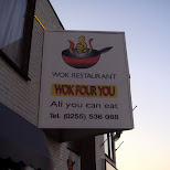 wok restaurant in Oud-IJmuiden, Noord Holland, Netherlands