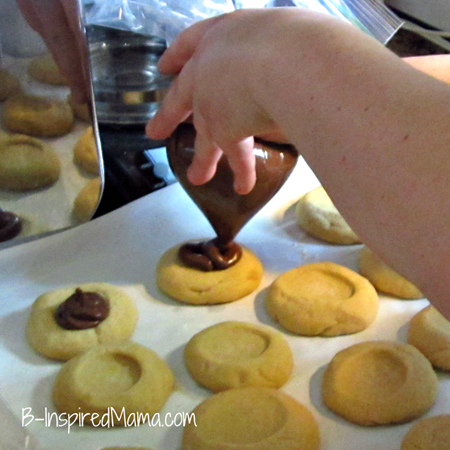 Peanut Butter Nutella Cookies 6