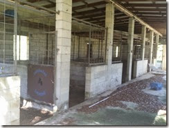 Old horse stalls