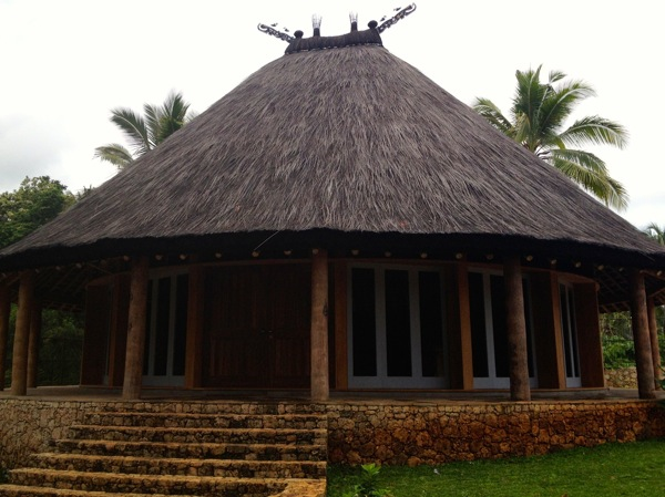 Traditional Timorese Building