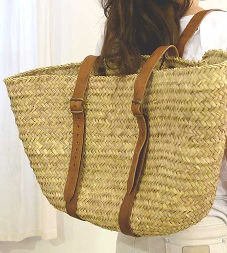This bag is the classic beach tote. (brookfarmgeneralstore.com)