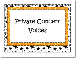 Private Concert Voices