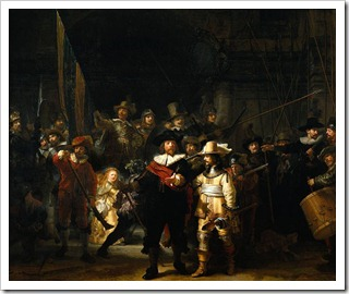 The Nightwatch Rembrandt