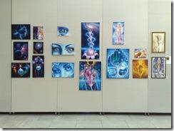 Expozitie de pictura cu tablouri de vis de Corina Chirila la Palatul Parlamentului