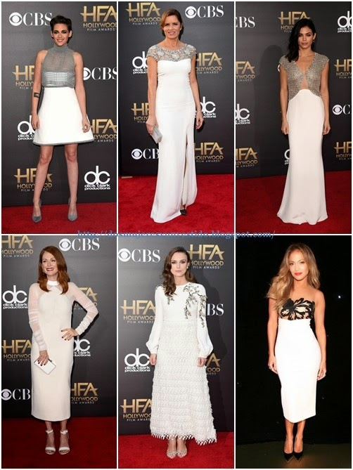 Hollywood Film Awards 2014-white