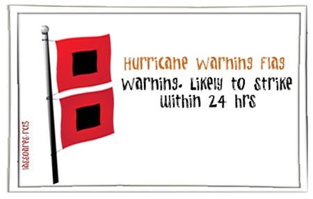 Hurricane Warning Flag (lassoares-rct3)