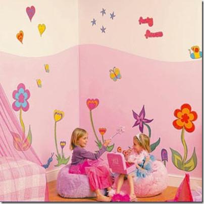 Decoraciones de interior 5 decoracion para dormitorios - Dormitorios bebe nina ...