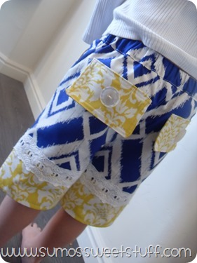 .:Sumo's Sweet Stuff - Beach Bum Bermuda Shorts from Peek-A-Boo Pattern Shop:.