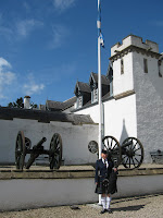 A piper at Blair Castle