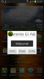 Körjournal - screenshot