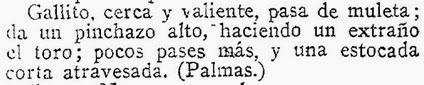 1914-04-21 (p. 22 ABC) Sevilla 5º toro Joselito Tumbaguito