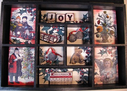 2011 12 LRoberts 1 ATCs Beyond Trading Christmas Memory Box