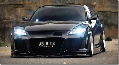 modification mazda rx-8