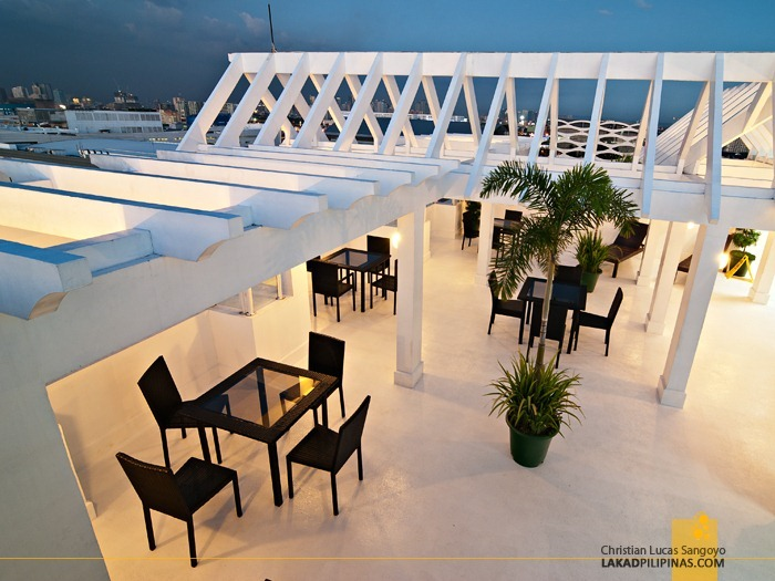 Early Evening at Microtel's Roof Deck