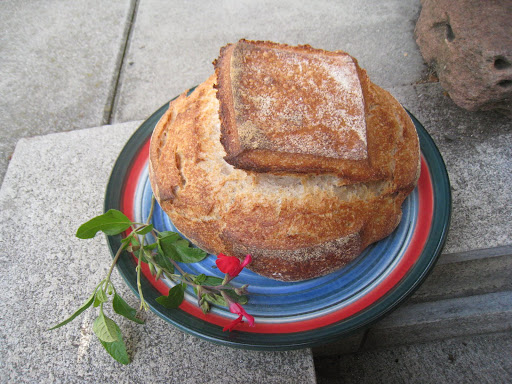 Vermont Sourdough - looking like a Japanese garden house.