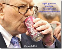 Warren Buffett imperativo institucional