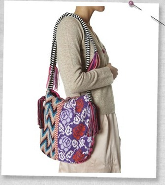 #272 Chimbote knitted bag
