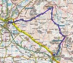 Ingleborough route