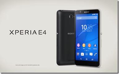 Sony Xperia E4