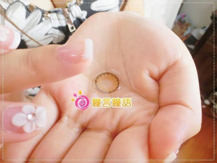 韓國GEO隱形眼鏡-GEO Eyes Cream 霜淇淋咖005