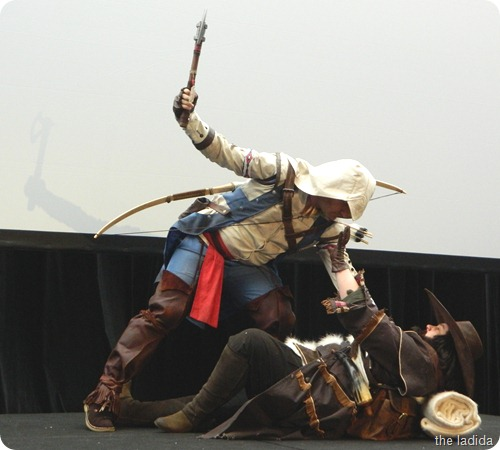 EB Expo Just 'Cos Cosplay Competition - Connor and Sharpshotter from Assassin's Creed 3 (2)