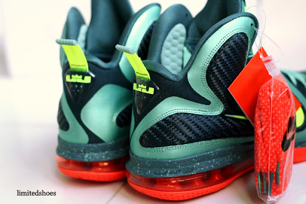 Nike LeBron 9 8220Cannon8221 aka 8220PreHeat8221 Finally with Decent Photos