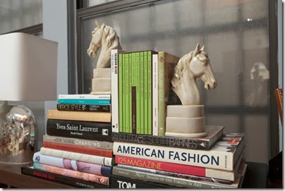 library  display bookends