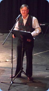 Our MC for the Concert, Len Hancy