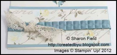 baja breeze pleated satin ribbon and knot of Victoria Lace