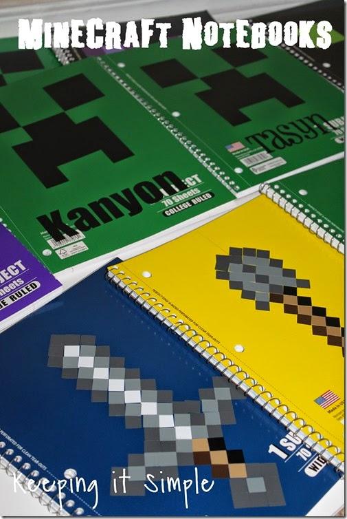 Minecraft Notebooks